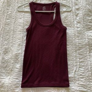 American Eagle Outfitters Tops - NWOT American eagle racerback ribbed tank